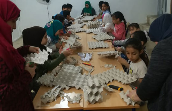Bourj El-Barajneh Center Weekly Activities