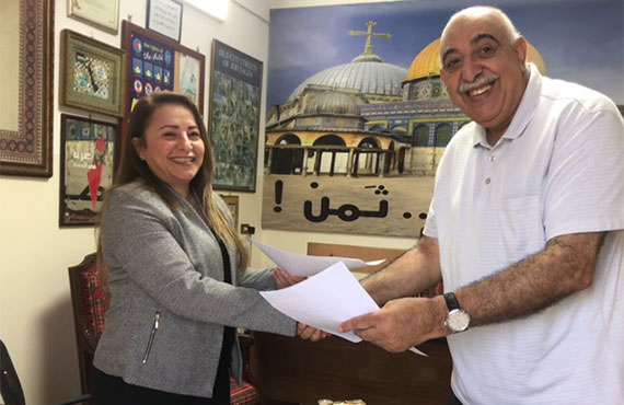 A cooperation agreement between Beit Atfal Assumoud and the Union for the Protection of Juveniles in all justice palaces in Lebanon