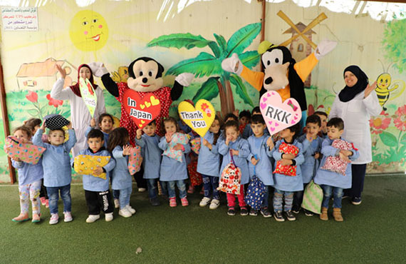 Nahr El Bared Center Weekly Activities