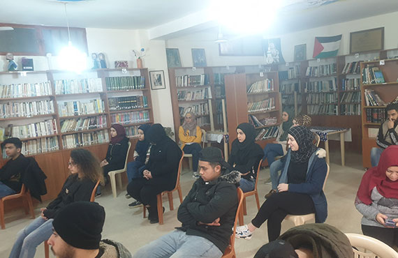 Shatila Center - Training on prevention and dealing with the Corona virus